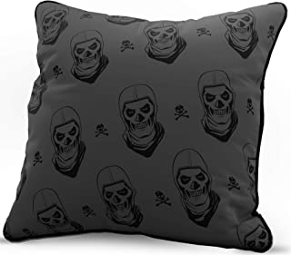 Jay Franco Fortnite Dark Trooper RTP Decorative Pillow Cover - Throw Pillow Cover - Kids Super Soft Bedding (Official Fortnite Product)