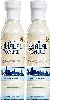 The Halal Sauce - Original White Sauce (12.oz) - 2 Bottles