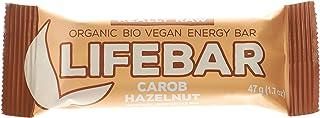 Life Food Organic Lifebar Carob Hazelnut , 47G