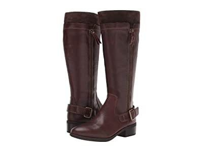 Comfortiva Corozal (Bridle Brown Wild Steer/Cow Suede) Women
