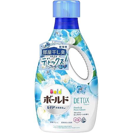 ボールド 洗濯洗剤 液体 洗濯水をデトックス 850g 柔軟剤入り フレッシュピュアクリーン 1 本