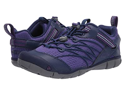 Keen Kids Chandler CNX (Little Kid/Big Kid) (Royal Purple/Blue Depths) Girl