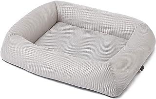 西川リビング WASHABLE PET BED(ウォッシャブル ペットベッド) シルバー 猫・小型から中型犬用 M サイズ