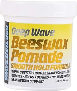 Wave Builder Deep Wax Beeswax Pomade, 3 Ounce