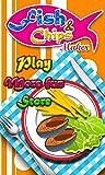 Freír las patatas fritas de pescado Maker - Juegos de cocinar para chicas niños