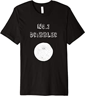 No 1 Dribbler - Kitch Soccer T-shirt with a modern twist