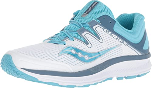 Saucony Wohommes Guide ISO paniers, paniers, paniers, blanc bleu, 110 M US 285