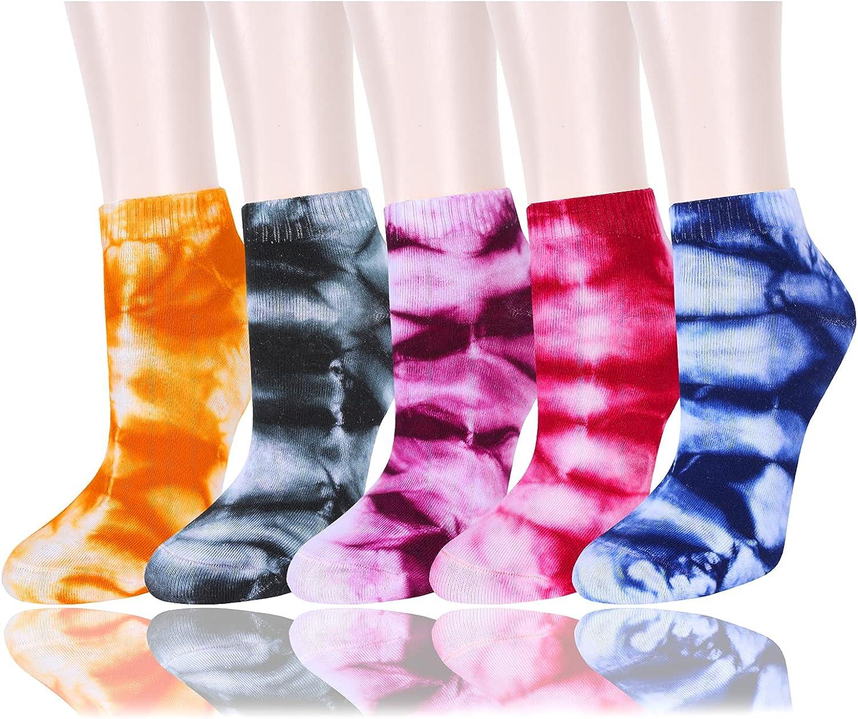 Womens Girls Ffunny Novelty Ankle Socks Cute Fun Colorful Patterned Low Cut Socks