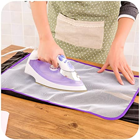 Heat Resistant Protective Mesh Ironing Cloth 60x40cm Reusable Washable