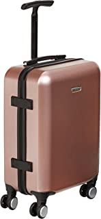 AmazonBasics Metallic Hardshell Trolley Suitcase with Built-In TSA Lock, 22-Inch