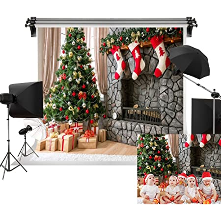 Christmas Tree elk Hanging Christmas Series Pattern Photography Background Cloth