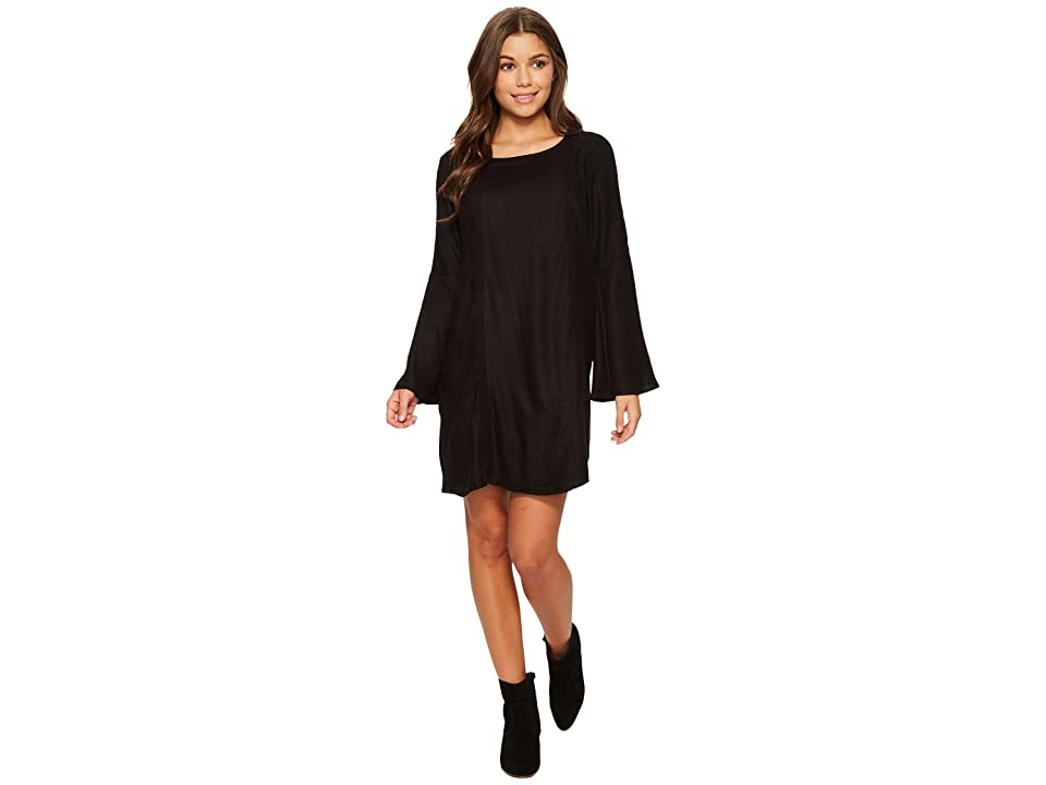Roxy East Coast Dreamer Solid Dress (Anthracite) Women