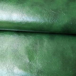 Patch Autocollant Cuir Armée verte Cuir Patch réparation Autocollant pour canapés, sièges de Voiture, Sacs à Main, Vestes,...