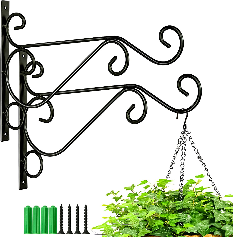 Kingbuy Metal Plant Hanger Hook Flower for Hanging Luxury Bracket Wall Fashionable