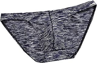 Mogogo Mens Modal Cotton Sexy Underwear Low-Waist Soft Breathable Briefs