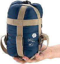 Outdoor Camping Sleeping Bag 700g Envelope Travel Hiking Multifuntion Ultra-light Bag Sky Blue