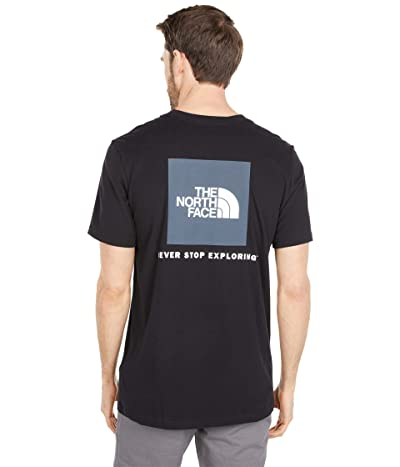 The North Face Box Nse Short Sleeve Tee (TNF Black) Men