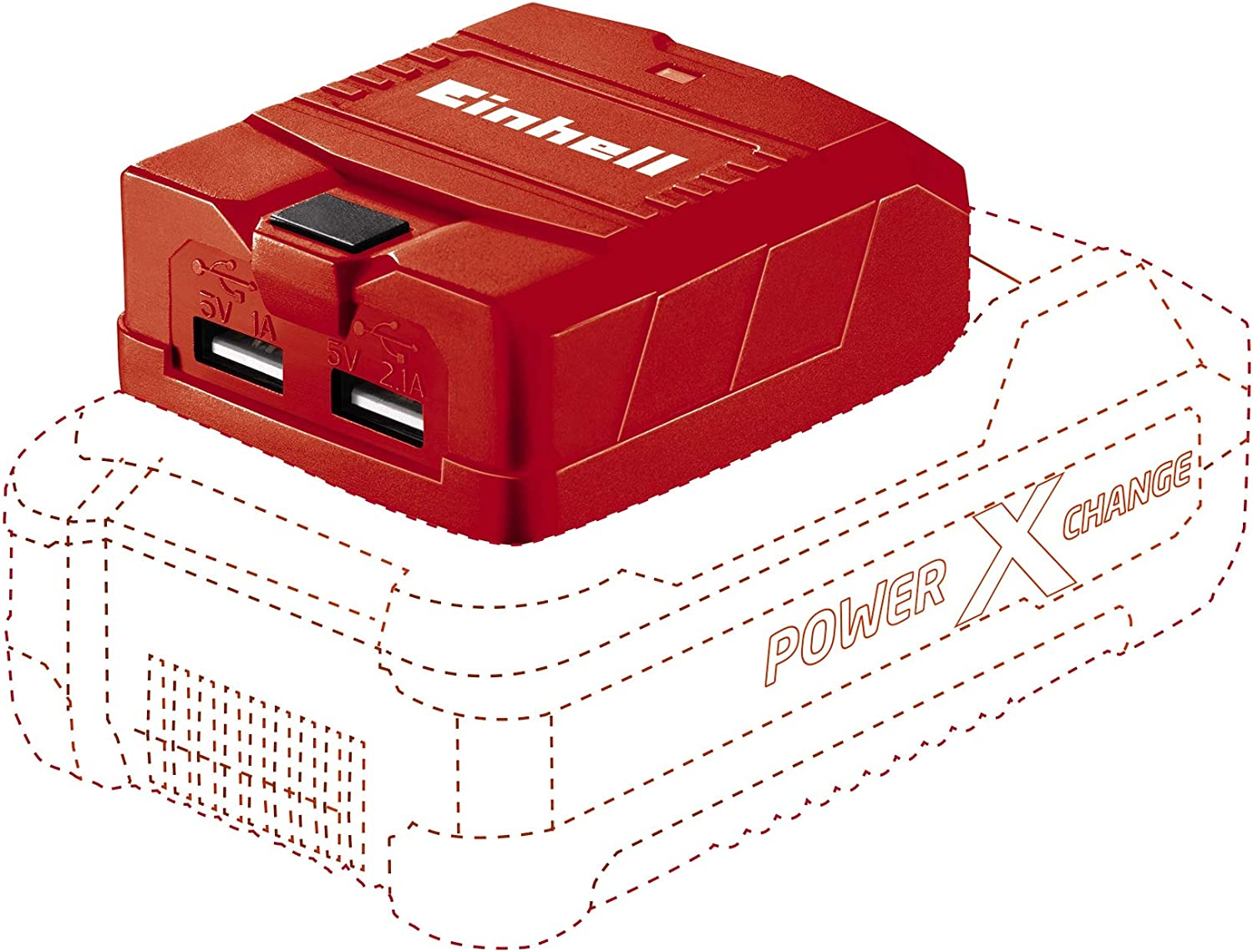 Einhell 4514120 TE-CP 2021 spring and summer new 18 Solo Power NEW before selling Ion X-Change Lithium Cha USB