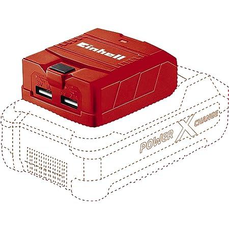 Batteria agli Ioni di Litio da 18 V /& 45.113.95 Power X-Change Batteria a Ioni di Litio 2.0 Ah 18 V Einhell 3433533 Soffiatore di Foglie Senza Fili Nero 2,0