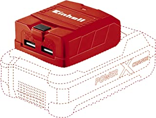 Einhell TE-CP 18 Solo Power X-Change Lithium Ion USB Charger - Supplied without Battery and Charger