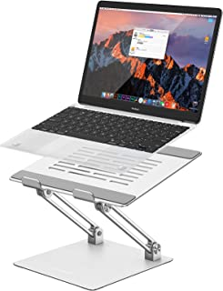 ORICO Aluminum Laptop Stand, Height Angle Adjustable, Ergonomic Portable Notebook Stand Riser, Compatible with MacBook Air...