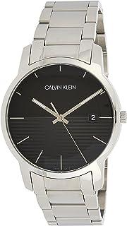 Calvin Klein Men's Quartz Watch, Analog Display and Stainless Steel Strap K2G2G14C
