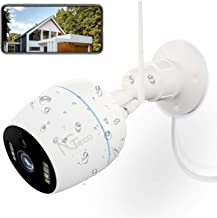 Security Camera Outdoor, NGTeco 1080P HD WiFi Wireless Cameras for Home Security System - 360 Waterproof Bullet Surveillan...