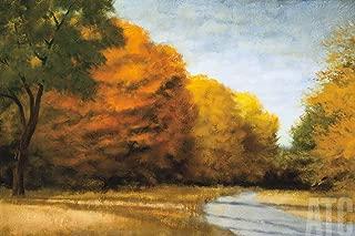 ArtToCanvas 36W x 24H inches : Evening Walk by Robert Striffolino - Canvas