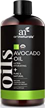 ArtNaturals USDA Organic Avocado Oil - (16 Fl Oz / 473ml) - Massage Oil & Moisturizer - 100% Pure Expeller Pressed, Hexane Free for Cooking Hair, and Skin - Treatment for Age Spots Dry Skin and Scars
