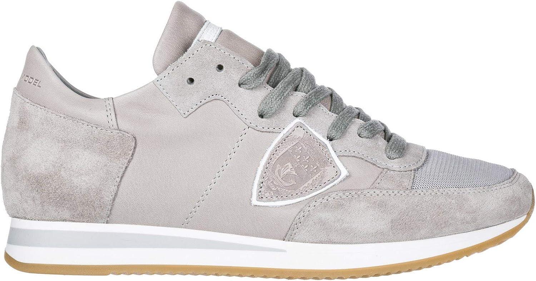 Philippe Model Herrenschuhe Herren Wildleder Sneakers Schuhe Tropez Tropez Tropez Grau B07DJ4TXD6  b4e8af