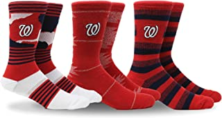 Unisex MLB Clubhouse Collection 3-Pack Socks
