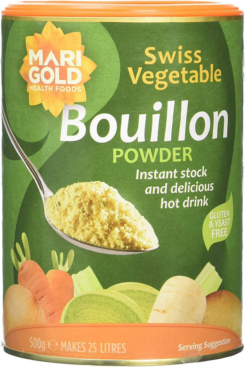 Marigold Swiss Vegetable Powder Spasm Online limited product price 500g Bouillon