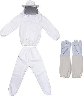 REAMTOP Professional Beekeeper Suit (Jacket, Pants, Gloves)