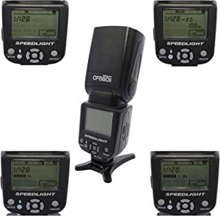 COOPIC CF560II LCD Display Speedlite for all CANON & NIKON Cameras.