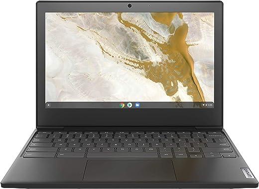 "Lenovo IdeaPad 3 11 Chromebook 11.6"" Laptop, 11.6"" HD (1366 x 768) Display, Intel Celeron N4020 Processor, 4GB LPDDR4 RAM, 64GB eMMC Storage, Intel UHD Graphics 600, Chrome OS, 82BA0003US, Onyx Black"