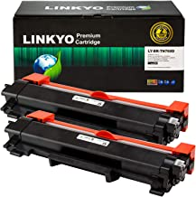 $27 » LINKYO Compatible Toner Cartridge Replacement for Brother TN760 TN-760 TN730 (Black, High Yield, 2-Pack)