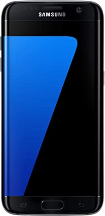 Samsung Galaxy S7 Edge Celular 32 GB Color Negro Desbloqueado (Unlocked) Reacondicionado (Renewed)