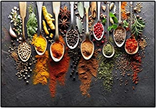"""Gourmet Wall Art, Modern Spices Food Canvas Painting Posters And Prints, Living Room Home Decor 23.6""""x31.4""""(60x80cm)No Fra..."""