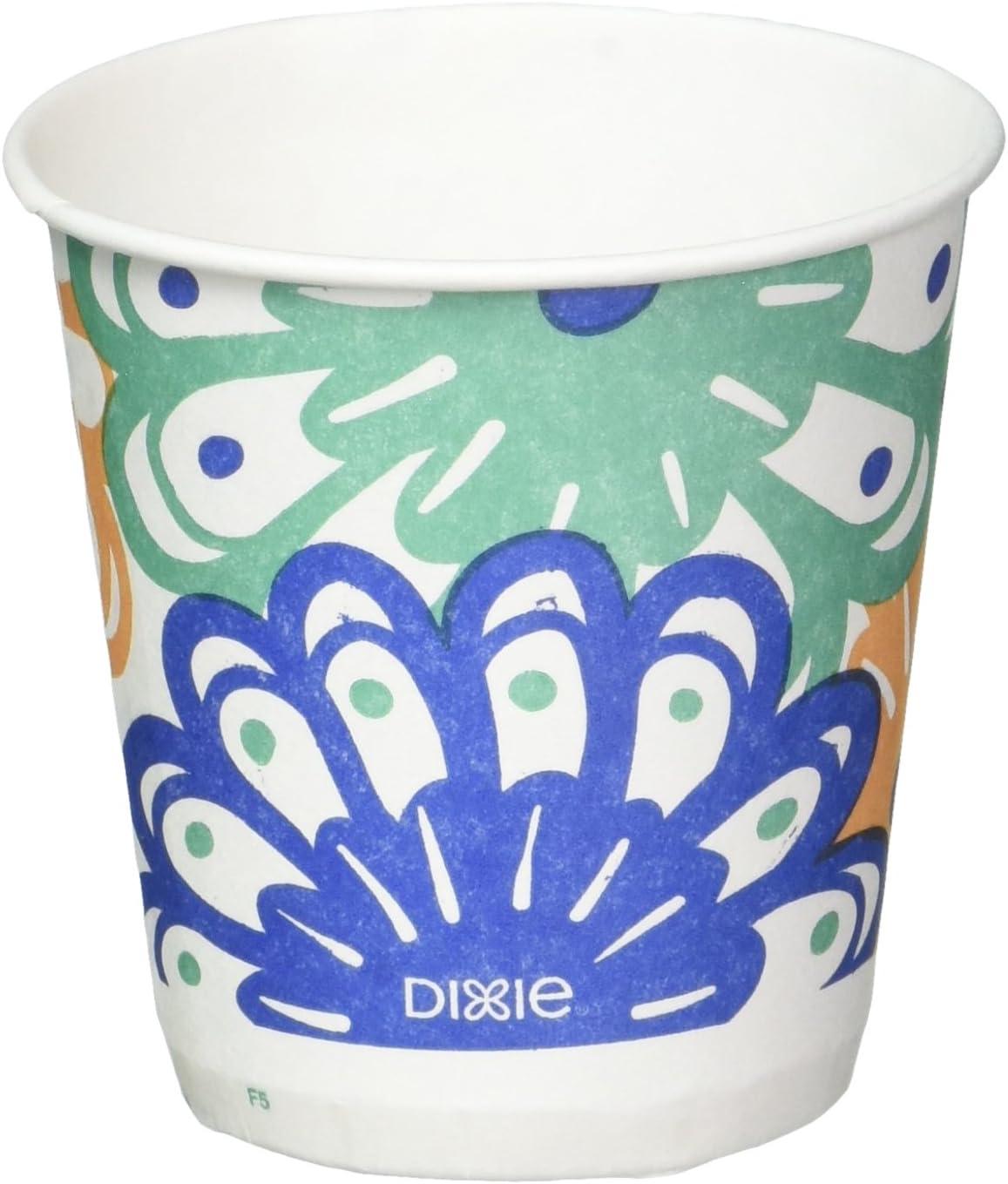 Amazon Com Dixie Disposable Bathroom Cups Coordinating Design 3 Oz 1200 Cups Health Personal Care