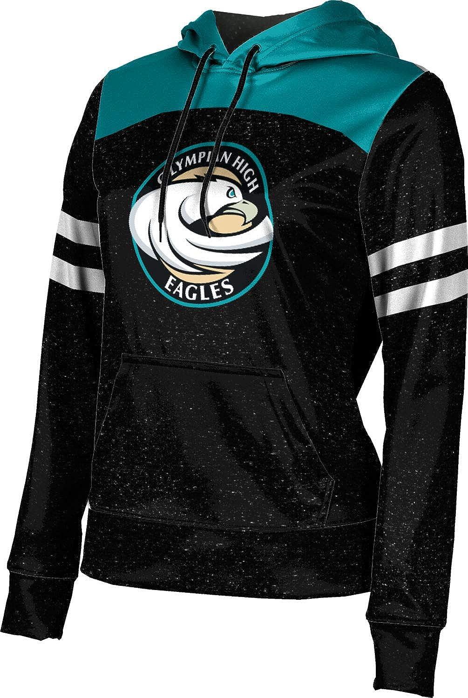ProSphere Olympian High School Girls' Pullover Hoodie, School Spirit Sweatshirt (Gameday)