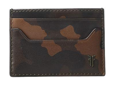 Frye Austin Card Case (Camo) Handbags