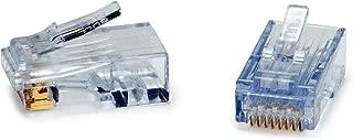 Platinum Tools Ezex44 Connectors 50/Clamshell Accessory Box (100028C)