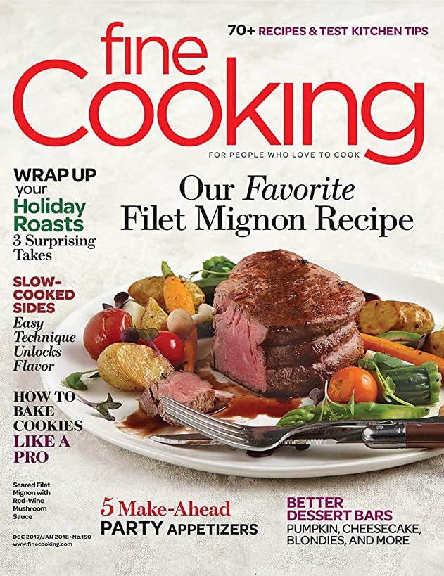 Fine Cooking Magazine (December 2017/January 2018)