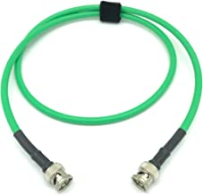 3ft AV-Cables 3G/6G HD SDI BNC Cable Belden 1505A RG59 - Green