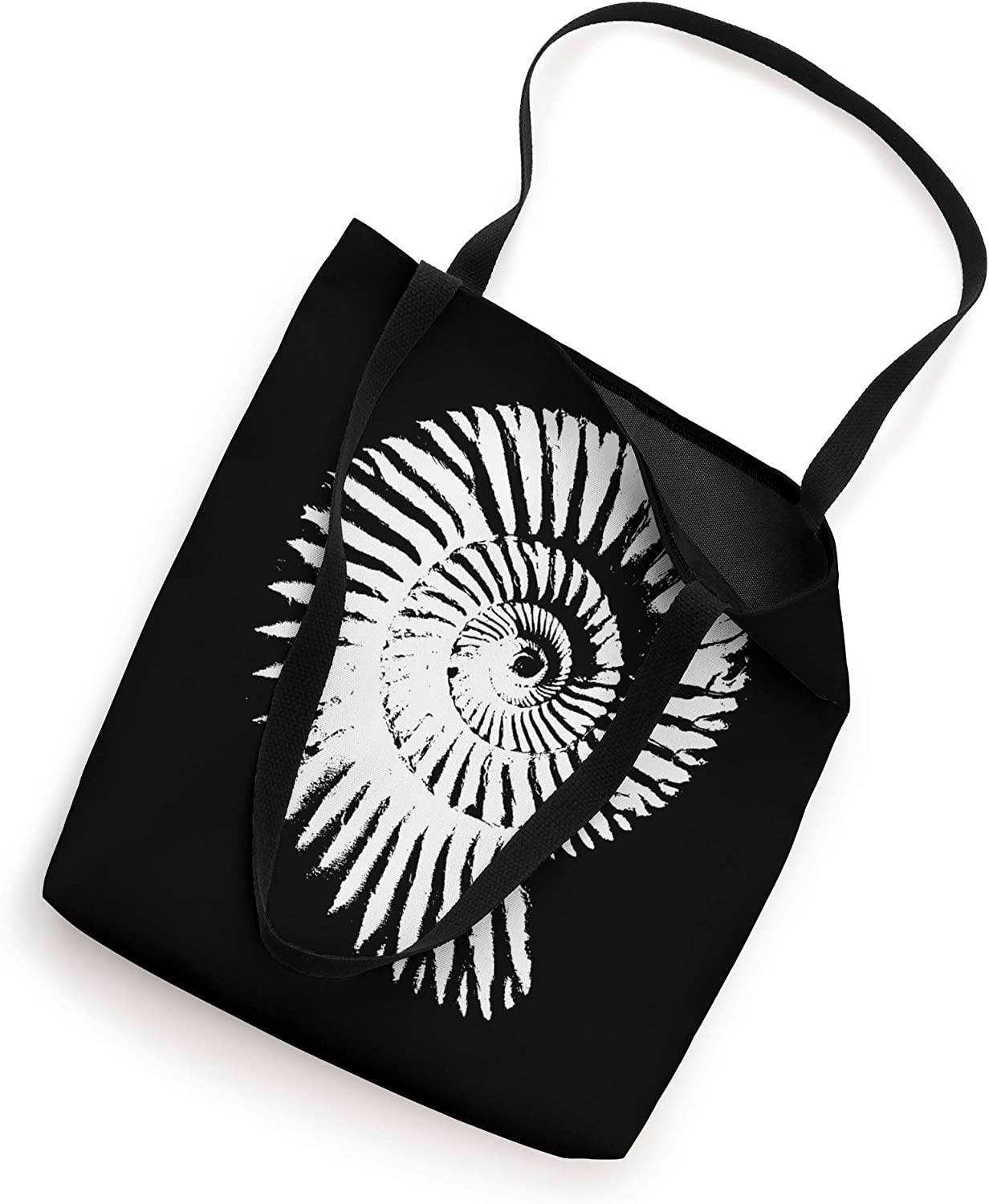 Ammonite Fossil Collector Rock Hound Cool Paleontology Tote Bag