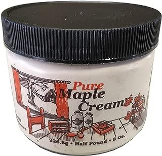 Nova Maple Cream - Pure Grade-A Maple Cream Butter Spread (1/2 Pound)