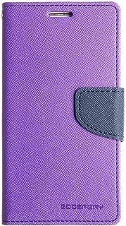 CEDO Luxury Mercury Magnetic Lock Diary Wallet Style Flip Cover Case for Xiaomi Redmi 4 (Purple)