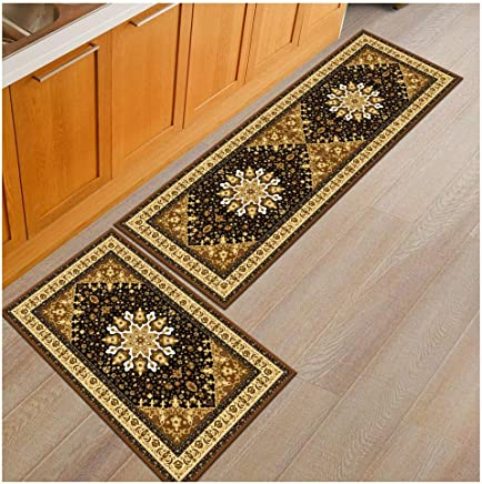 Amazon.com: Yellow - Kitchen Rugs / Kitchen & Table Linens ...