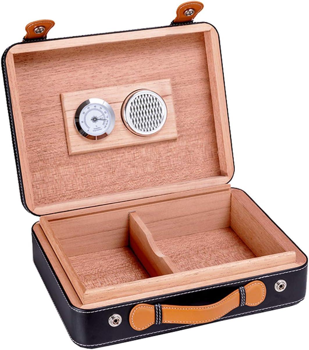 Colorado OFFer Springs Mall Cigar Humidor Portable Travel Storage Box Desktop Wood
