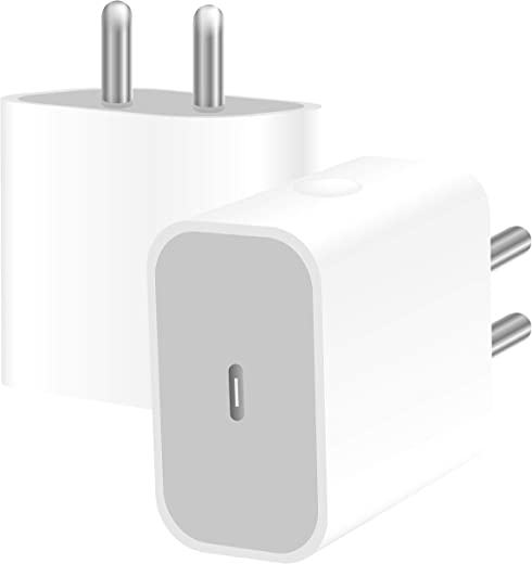 Crossvolt 20 watt Charger Adapter for iPhone 12 pro promax Mini 20 watt PD Fast Charge for iPhone 12